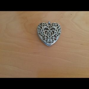 Jewelry - Heart large silver pendant